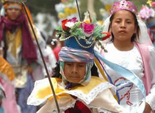Actividad Religiosa en Panchimalco