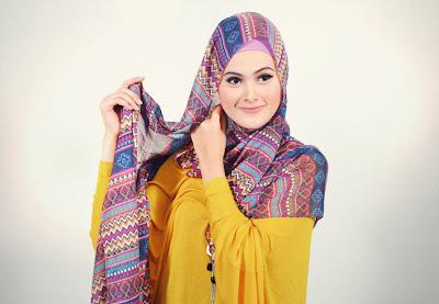Cara Menggunakan Hijab Pashmina SimpleTetap Syar'i