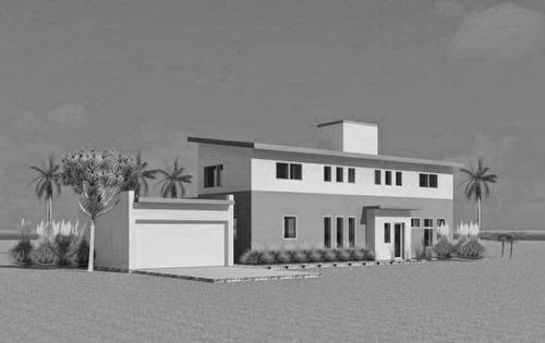 Modern prefab house project and considering car less for Moderni piani solari passivi