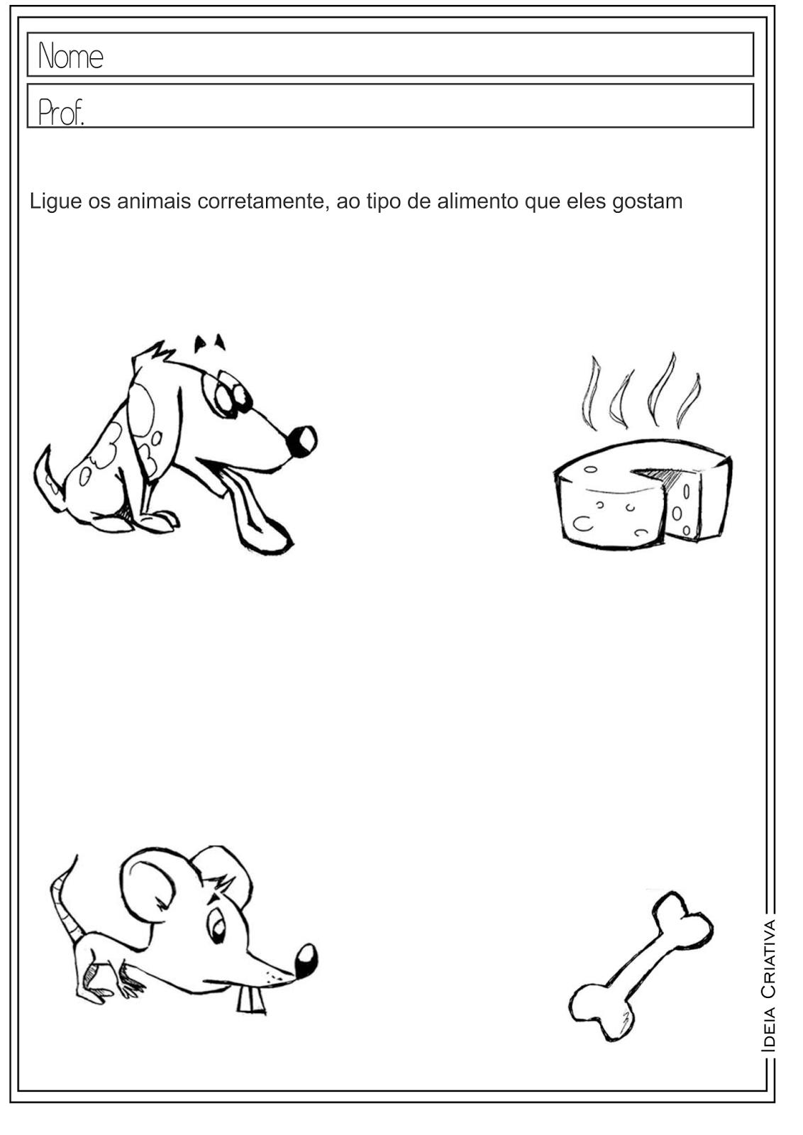 Atividades Educativas Ciências Animais para Ensino Fundamental