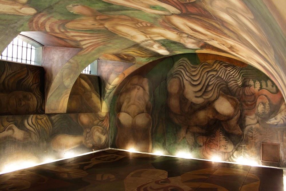 El muralismo y sus caracter sticas historia del muralismo for El mural de siqueiros pelicula