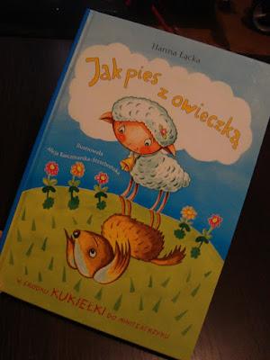 książka dla przedszkolaka i starszaka, Jak pies z oweczką, recenzja, zdjęcia, wydawnictwo skrzat
