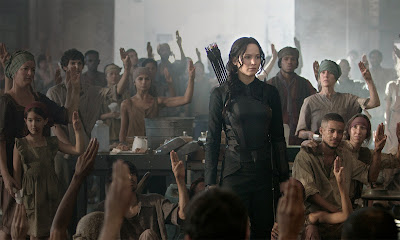 Jennifer Lawrence image from The Hunger Games Mockingjay Part 1