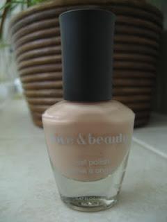 Forever 21 Nude nail polish