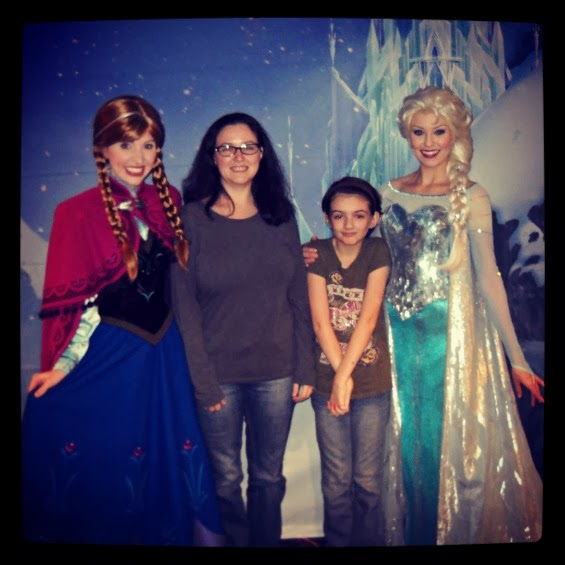 Meeting The Frozen Princesses