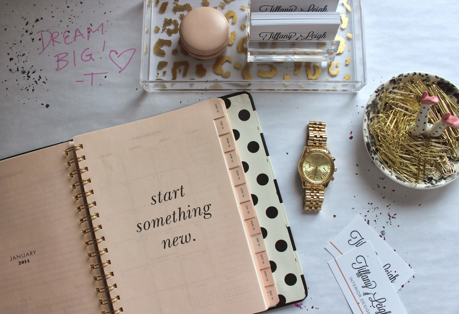 tiffany leigh interior design new year new goals 2014 time to fill this planner up big ideas big dreams and big hopes for the next twelve months what are some of your major goals