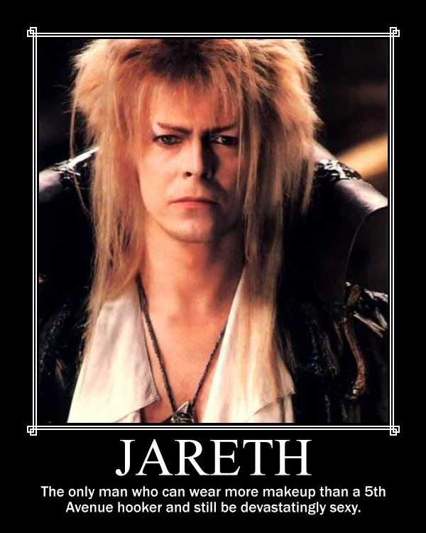 Tracey H. Kitts's Blog - What influences me - February 11 ... Labyrinth Movie Quotes Jareth