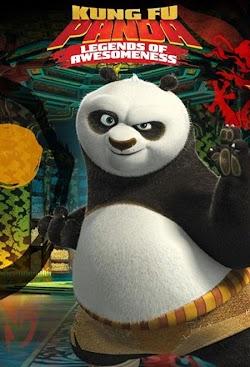 Kung Fu Gấu Trúc: Huyền Thoại Anh Hùng - Kungfu Panda: Legends Of Awesomeness (2011) Poster