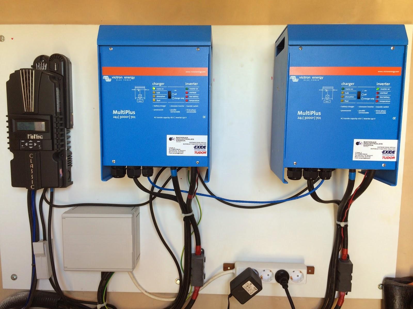 Baterias industriales gandia s l ampliacion de instalacion de energia solar fotovoltaica en oliva - Instalar placas solares en casa ...