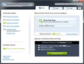 Spyware Terminator Premium 2012 3.0.0