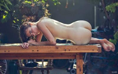 Alina Aliluykina naked in Treat Magazine by David Bellemere photoshoot