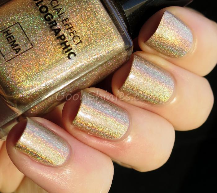 HEMA Holographic Copper