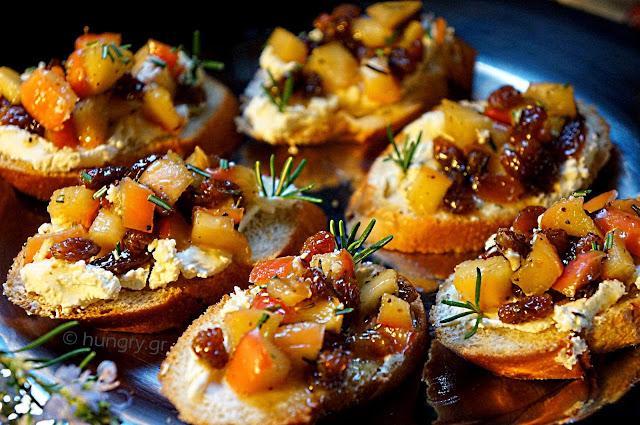 Apple & Cheese Crostini
