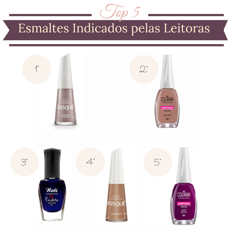 Os Esmaltes Preferidos