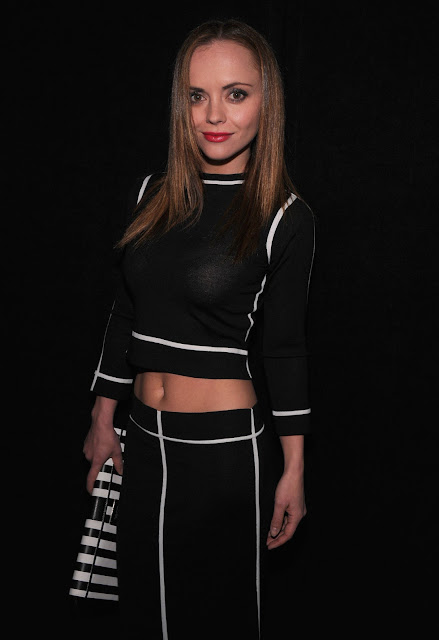 Christina Ricci at Marc Jacobs Fall 2013 Fashion Show in New York