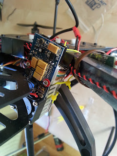 FPV video transmitter detail