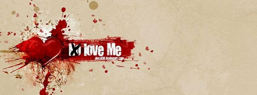 Photo couverture facebook no love me