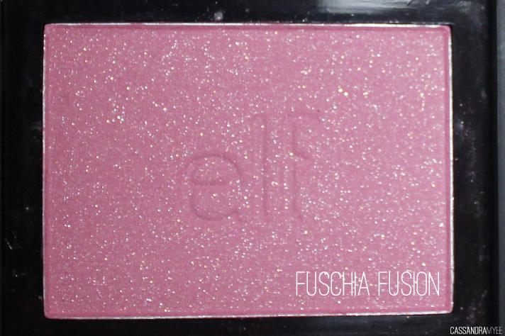 E.L.F. STUDIO // Blush Collection + Swatches - Fuschia Fusion - cassandramyee