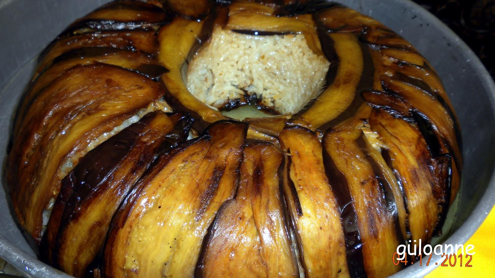Fırında Nohutlu Patlıcan Yatırma Tarifi