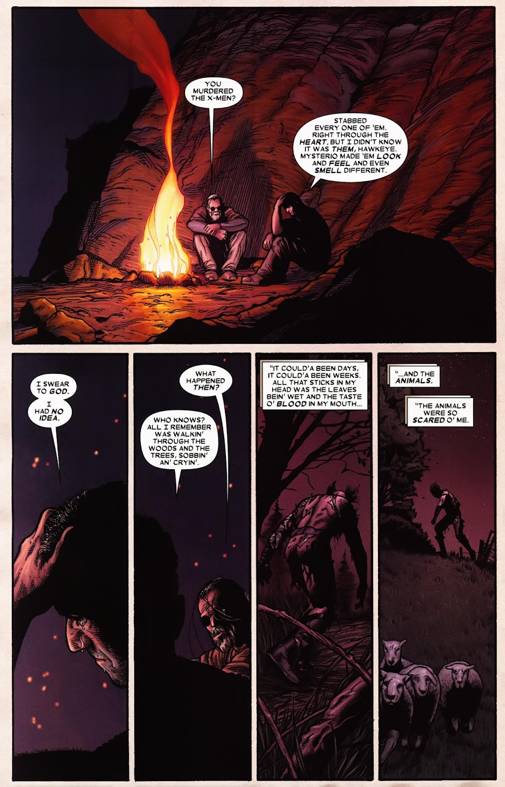 Read online Wolverine (2003) comic -  Issue #70 - 17