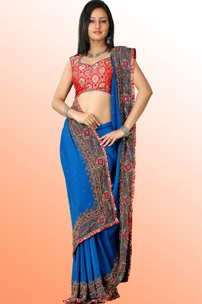 Zee World 9 Bangladeshi Designer Saree