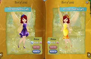 That's all, Pixies! Comment on your favorite dress!
