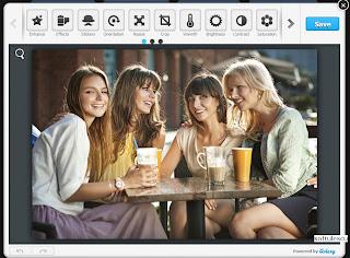Modifică poze online cu Photo Zoe Editor
