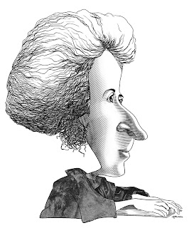 Caricatura Rosa Luxemburgo
