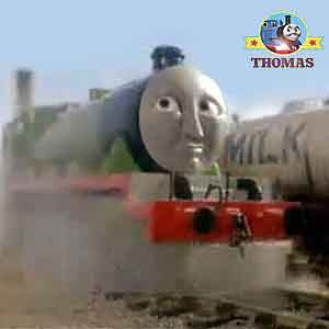 Tidmouth train shed Thomas the tank engine friends number 3 locomotive Henry the green engine