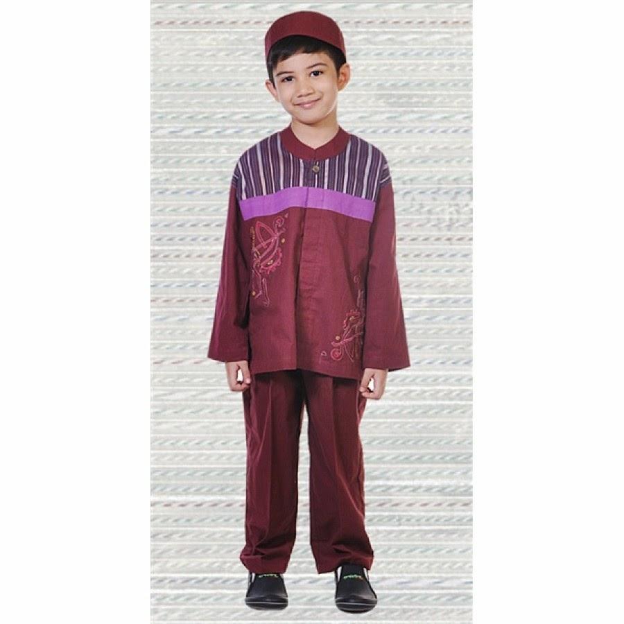 Gambar baju muslim anak laki-laki desain terbaru