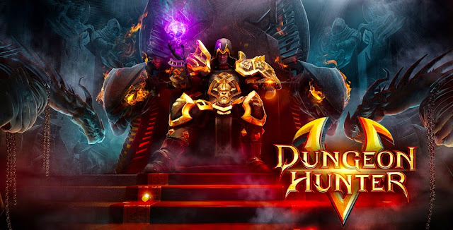 Download Dungeon Hunter 5 Android (Apk+Data) Free Game