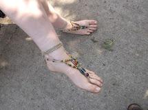 Picnic In Park Sierra Barefoot Girl