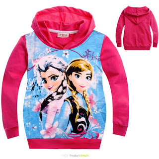 Contoh Jaket Frozen Anak Perempuan Terbaru
