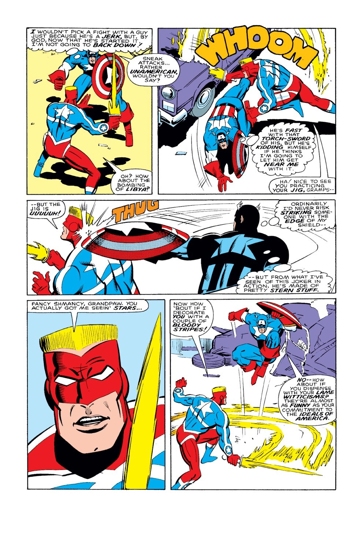 Captain America (1968) Issue #327 #256 - English 17
