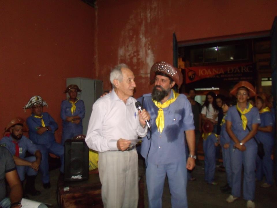 PALESTRA DE ROSA BEZERRA NA INAUGURAÇÃO DO MOBBAC