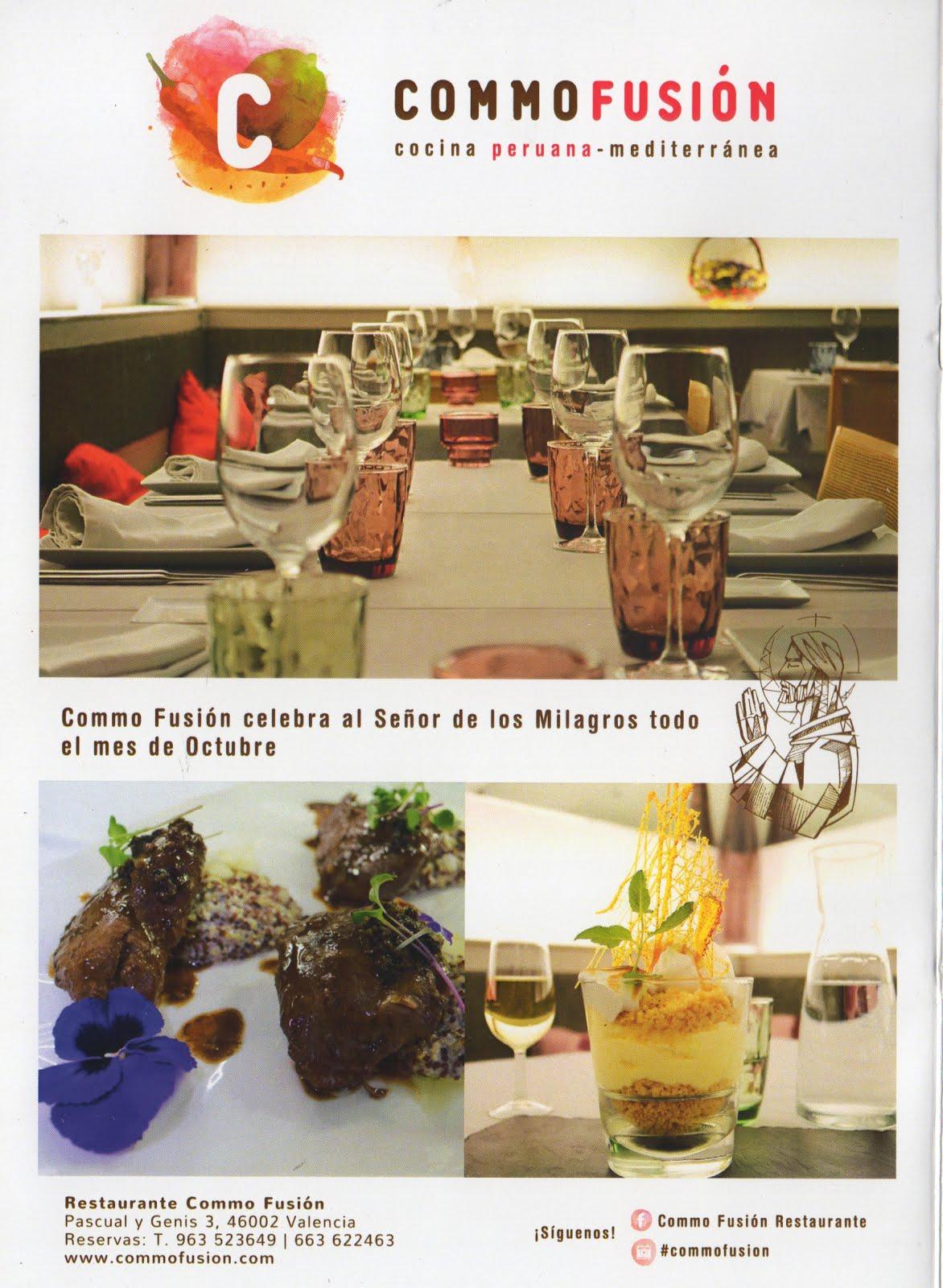 Restaurante Commo Fusión