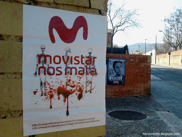 Huelga de Hambre en Telefonica