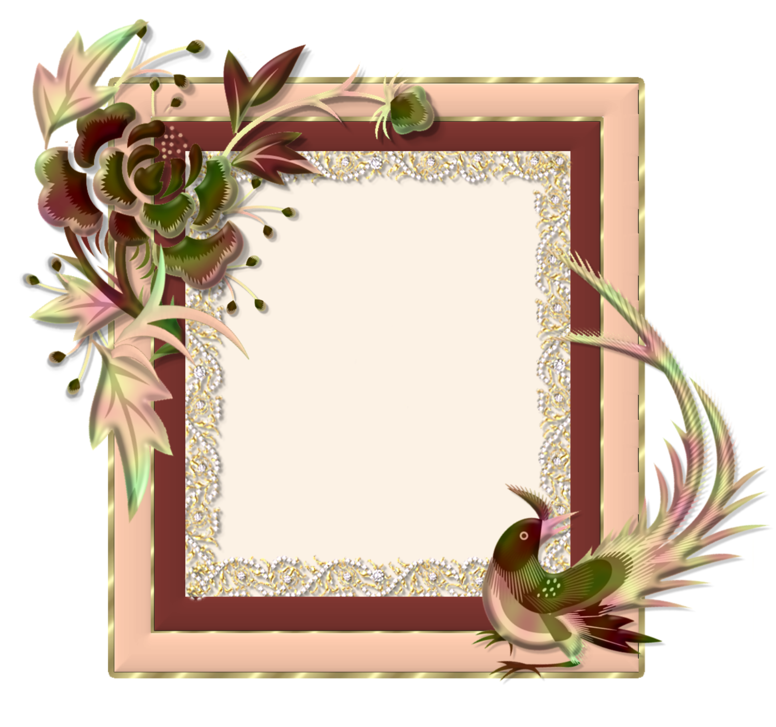 Free download Page Border Hawaii Flowers Joy Studio Design Gallery ...