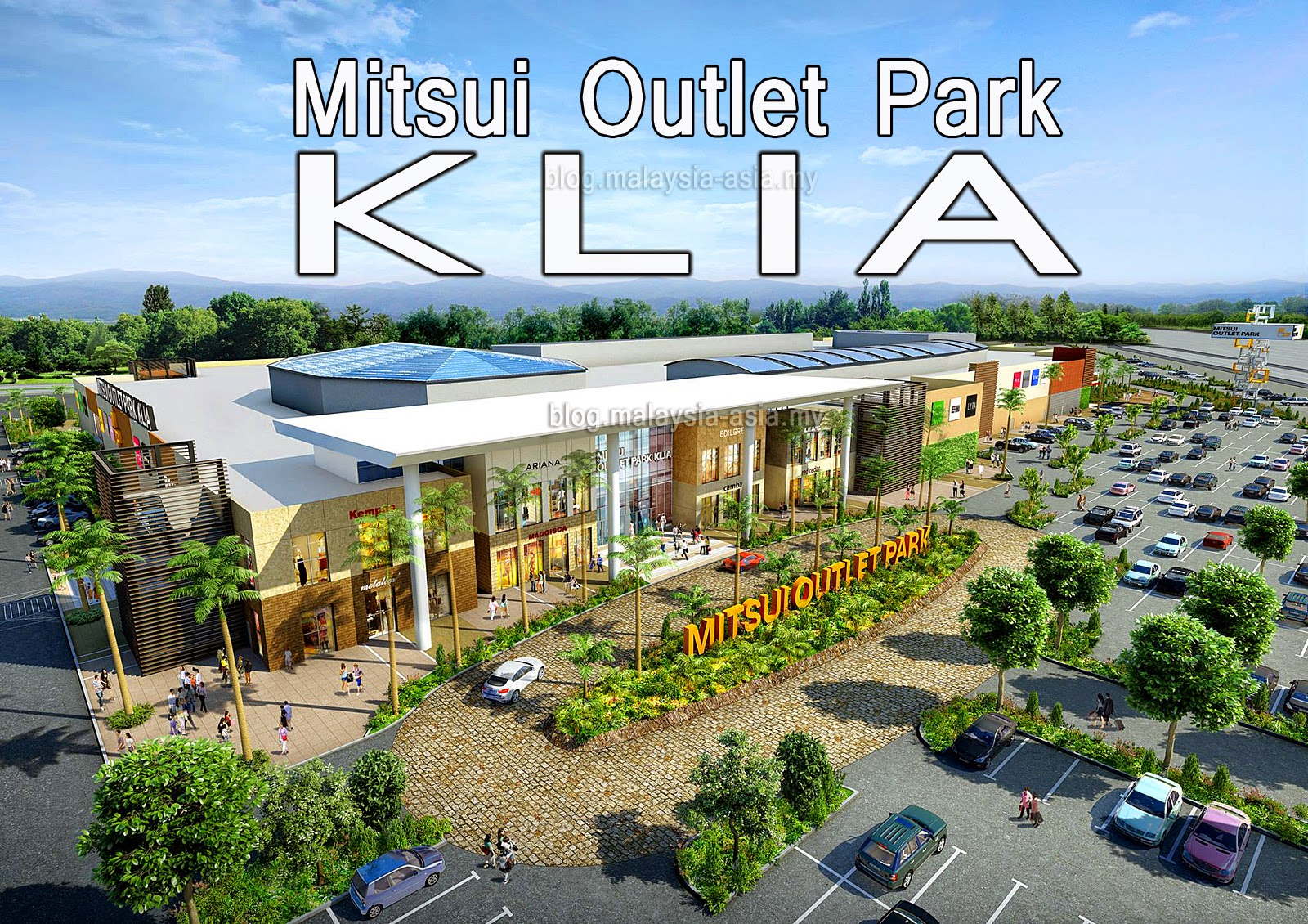 Mitsui Outlet Park KLIA Opening