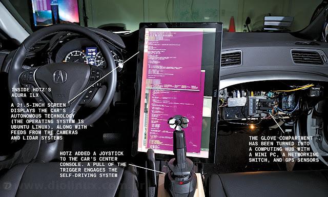 Carro inteligente controlado pelo Ubuntu