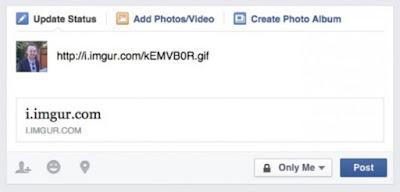 Cara Upload Gambar Hidup ke Facebook