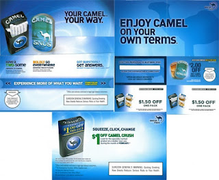 free Camel Cigarettes Coupon