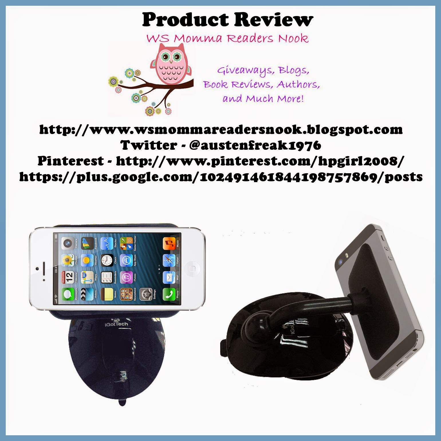 http://www.amazon.com/Cell-Phone-Holder-Smartphone-Accessories/dp/B00LETVK8W/ref=sr_1_1?ie=UTF8&qid=1412656370&sr=8-1&keywords=igottech+sticky+suction+stand