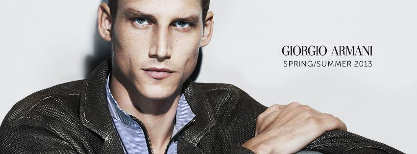 Armani 2013 - couverture facebook