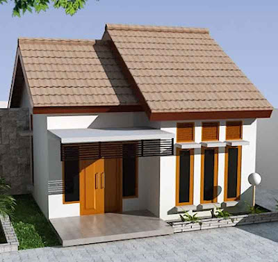 Contoh Desain Rumah Sederhana Minimalis 1 Lantai 04