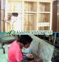 Proses Finishing Furniture Melamine Antirayap Dempul