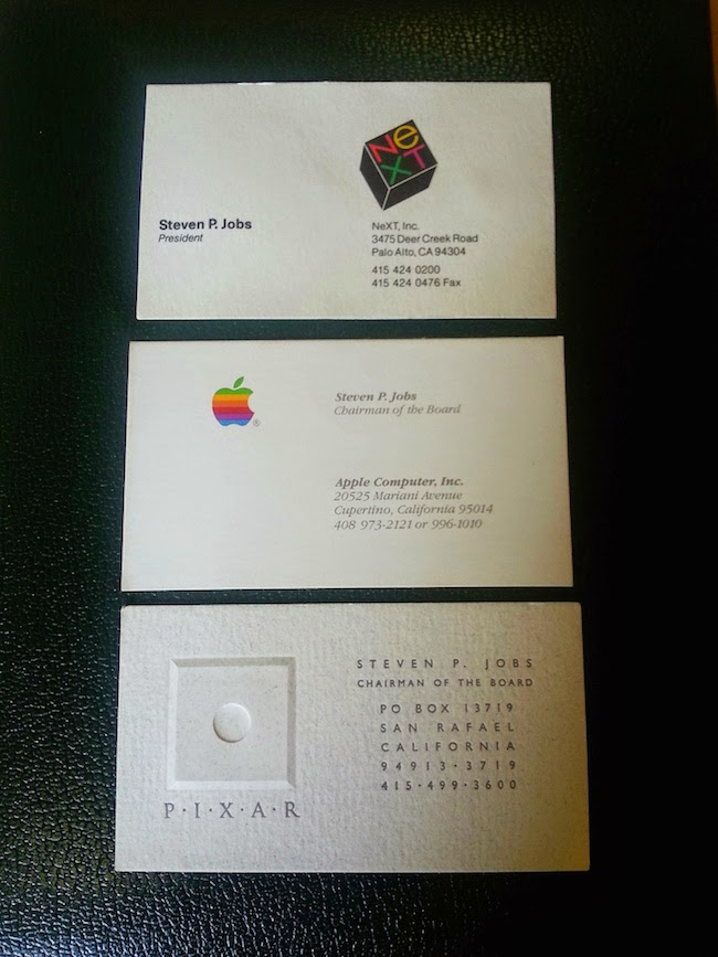 Steve Jobs Business Cards In Auction Worth $5,000