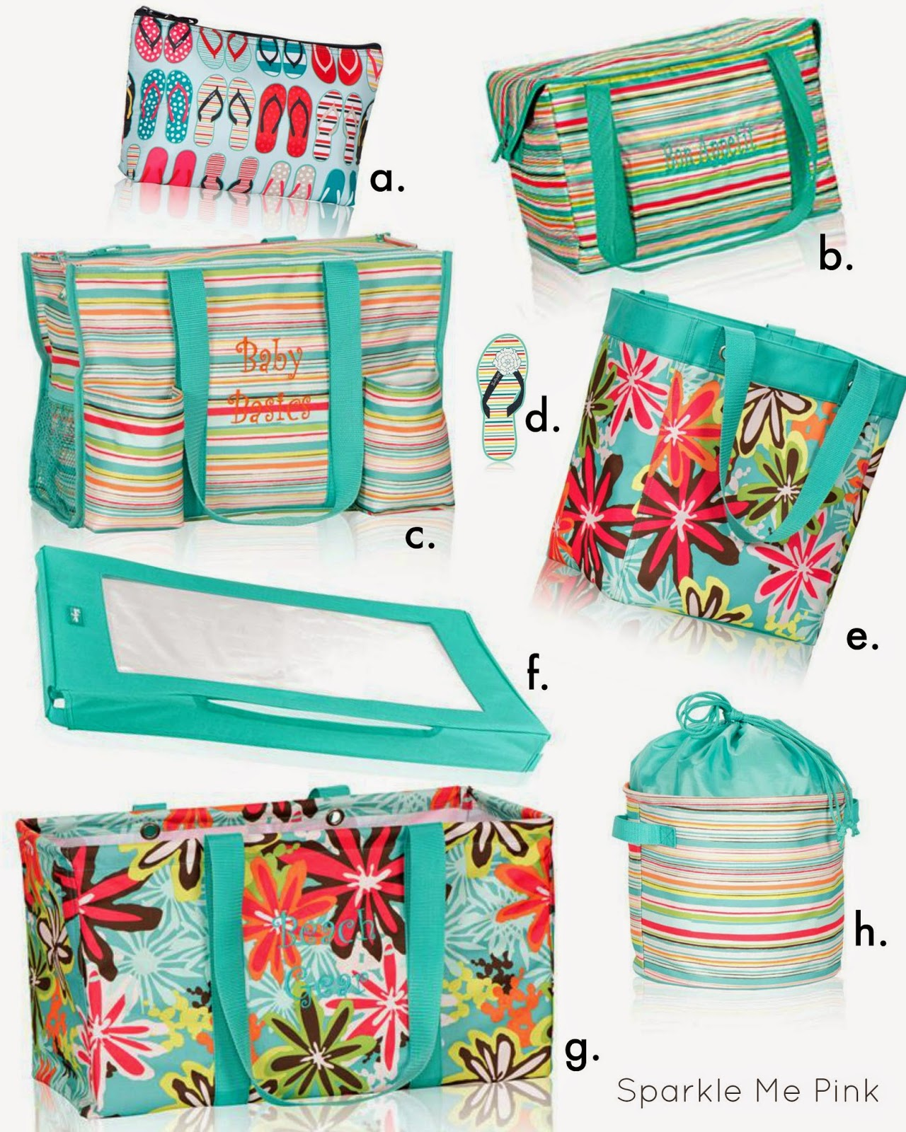 Organizing Utility Tote in Sunny Stripes d. Manicure Nail File e. Essential Storage Tote  sc 1 st  Everything Mommyhood & Thirty-one #SizzlingSummer $200 Prize Pack Giveaway - ends 6/27 ...