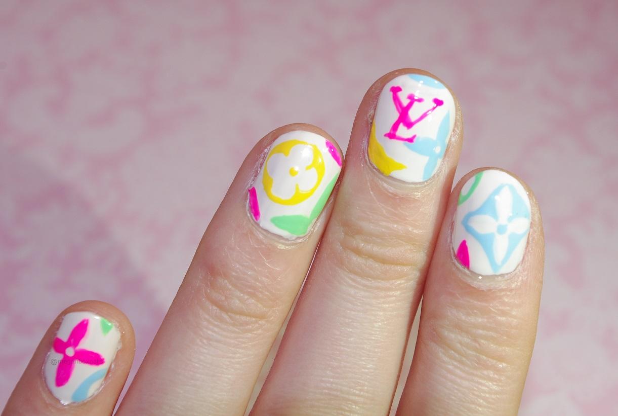 Colorful Louis Vuitton Nails. - Nail Lacquer UK