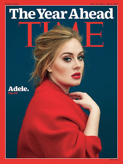 Adele On The Cover Of Time Magazine, Says Celebrity's Obsession With Social Media Is Ridiculous